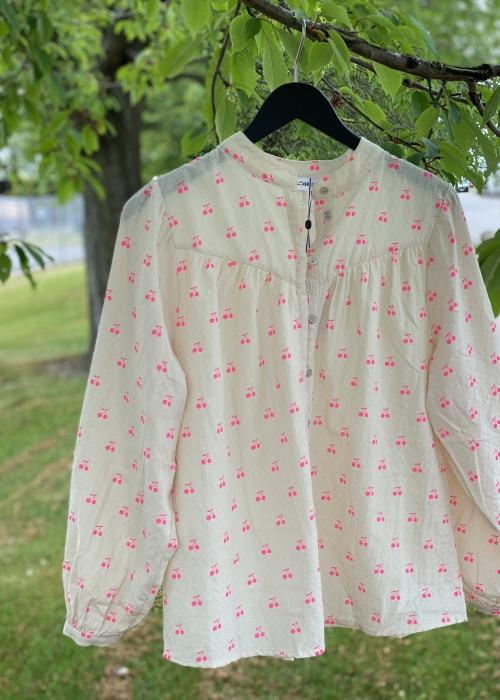 Cherry Shirt OFF WHITE / PINK