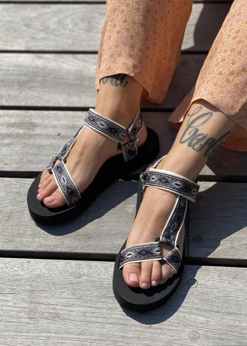 Summer strap sandal BLACK