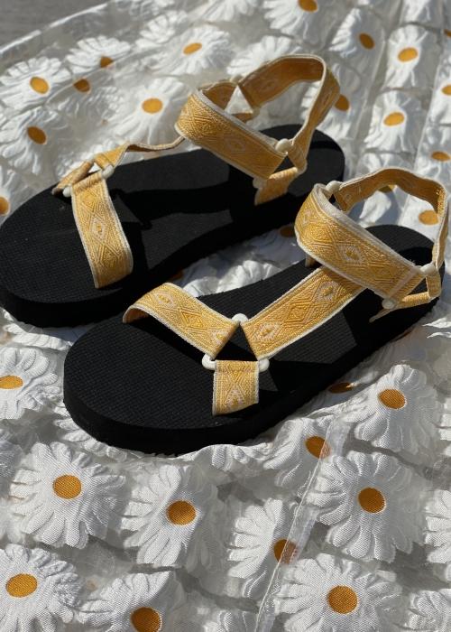 Summer strap sandal YELLOW