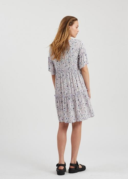 Giral short dress LAVENDER