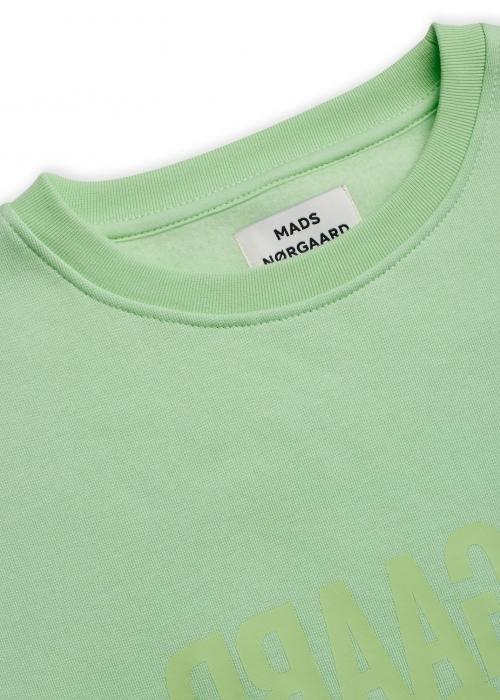 Tilvina Organic sweat PASTEL GREEN