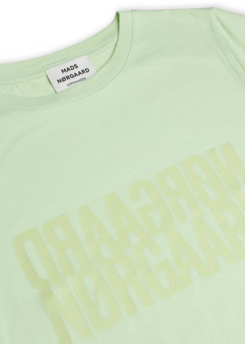 Trenda t-shirt single organic PASTEL GREEN