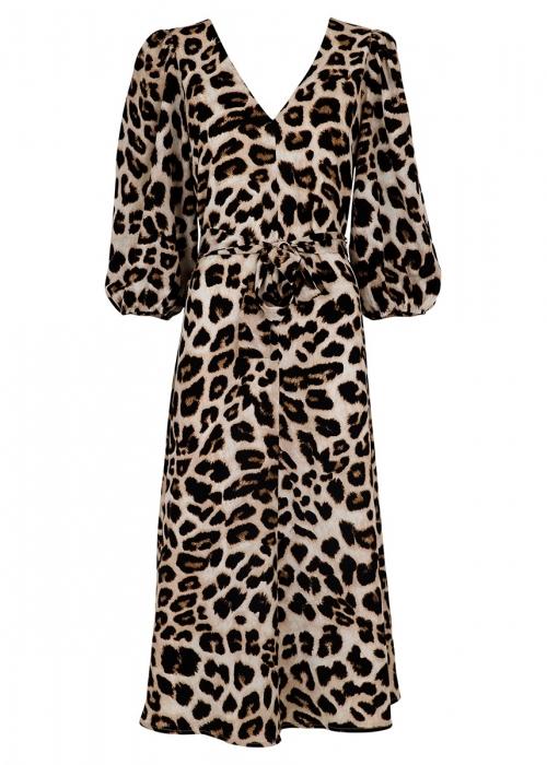 Manuelle big leo dress SAND LEO