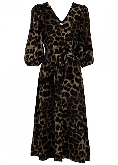Manuelle big leo dress ARMY LEO