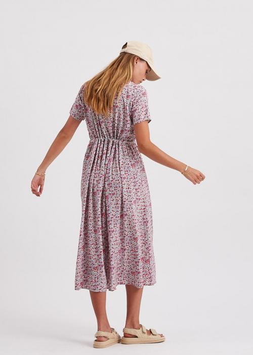 Tanisa ss maxi dress ALMOND OIL