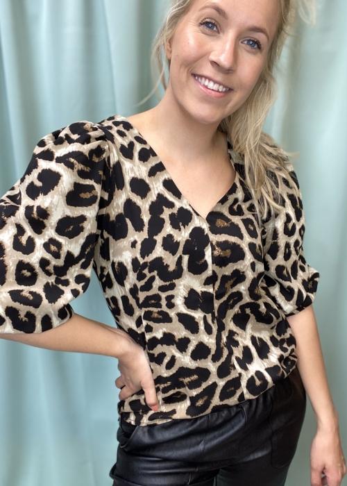Sila big leo blouse SAND LEO
