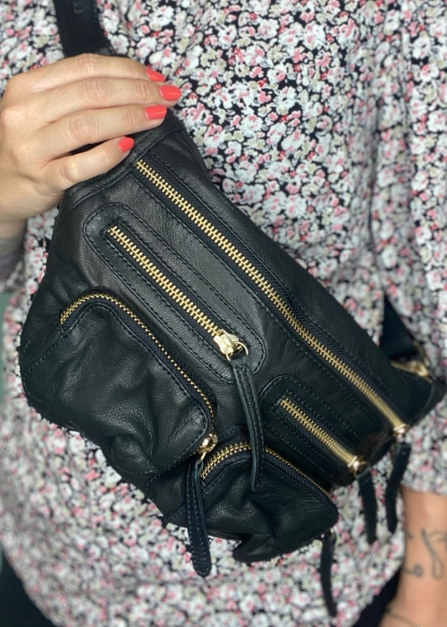 Ly small bumbag BLACK/GOLD