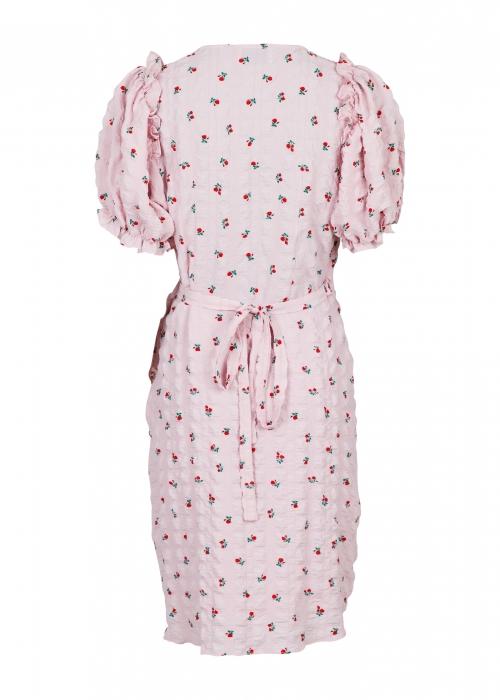 Carla wrap dress ROSE