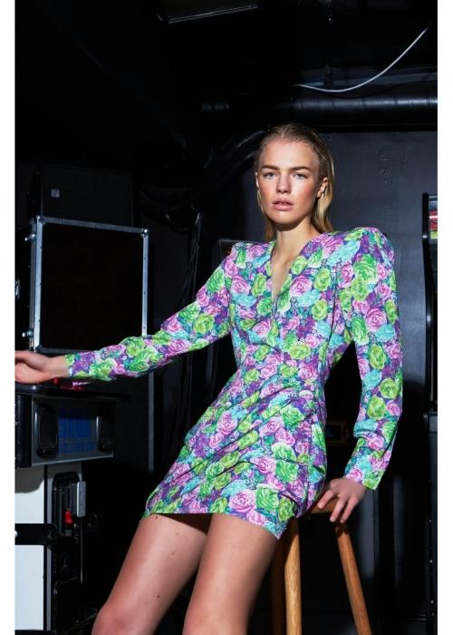Yvonnecras dress MULTI ROSE