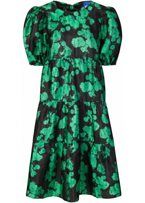 Lilicras dress GREEN ROSE