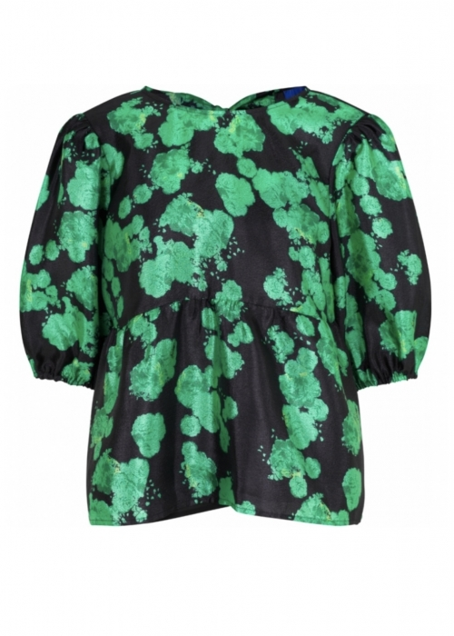 Lilicras blouse GREEN ROSE