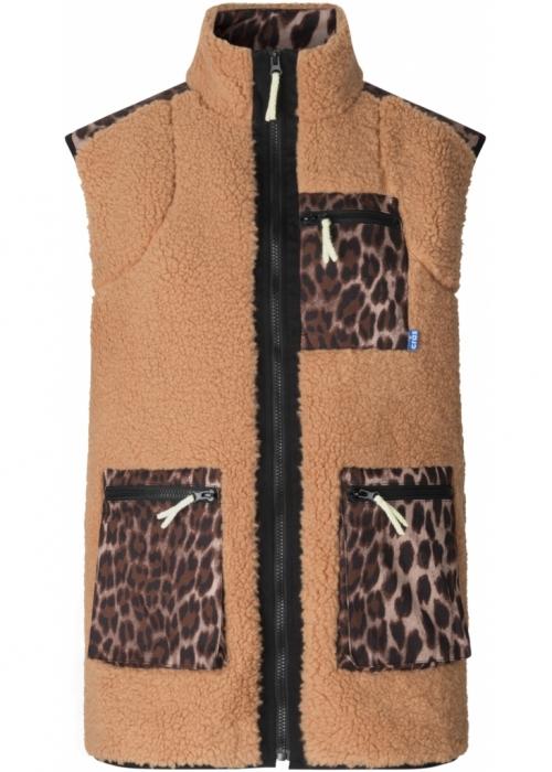 Adelecras vest LEO TANNED