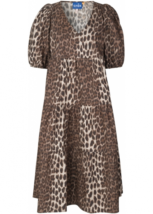 Carlacras dress LEO TANNED