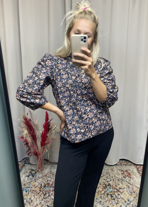 Solstice blouse RHEANNE PRINT