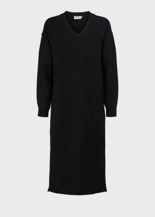 Esinamo knit dress BLACK