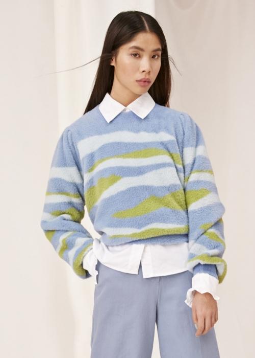 Abigail blouse BLUE