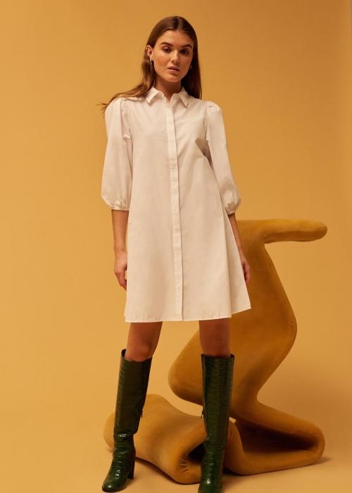 Taimi dress WHITE