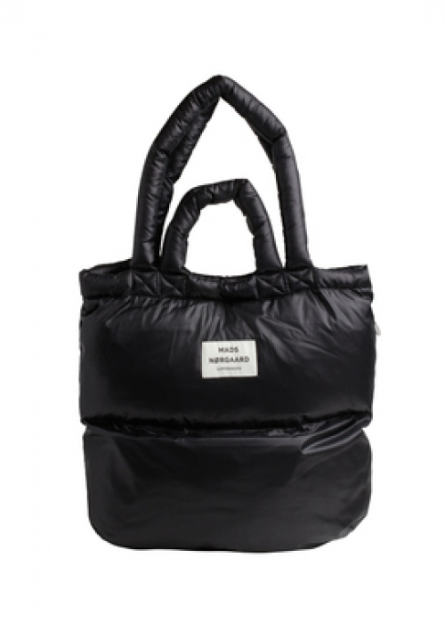 Shiny Poly Pillow Bag BLACK