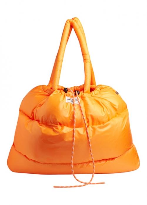 Shiny Poly Cloud Bag ORIOLE (ORANGE)