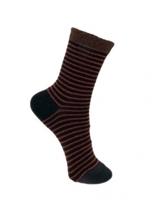 Flash Stripe Sock BLACK