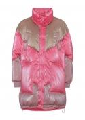 Puff jacket PINK MULTI