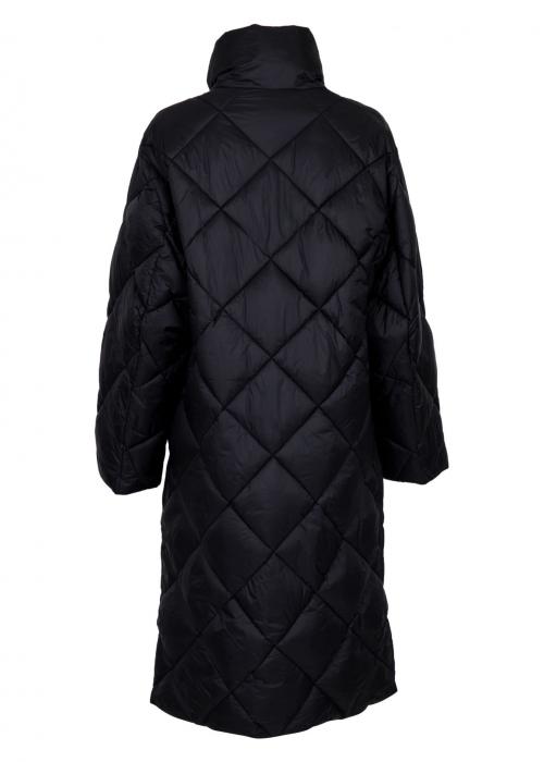 Toka Puffer Coat BLACK
