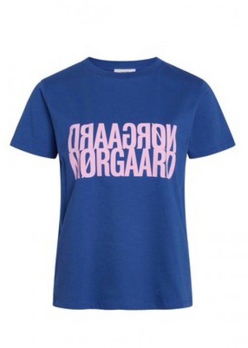 Trenda t-shirt single organic PRINCESS BLUE