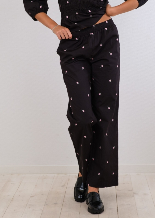 Astra rose pants BLACK