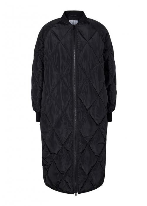 Amanda quilt coat BLACK