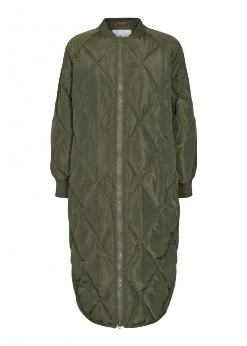 Amanda quilt coat ARMY