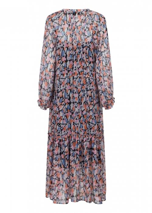 Hallas cute dot dress ROSE