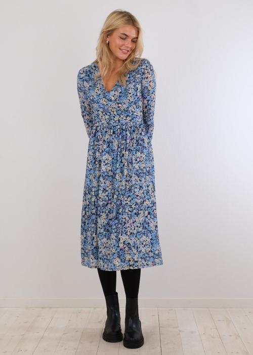 Samy Blossom Mesh Dress BLUE