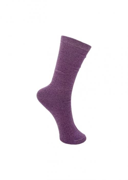 Lurex sock DUST LAVENDER