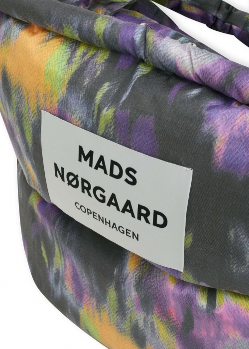 Duvet Print Pillow Bag MULTI PURPLE HEBE