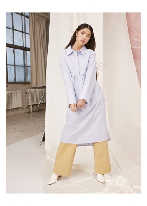 Pianna Shirt Dress LIGHT BLUE