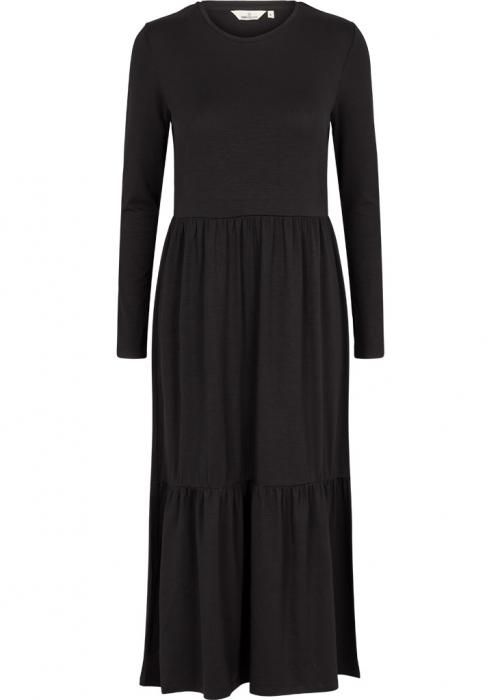 Joline Frill Dress BLACK