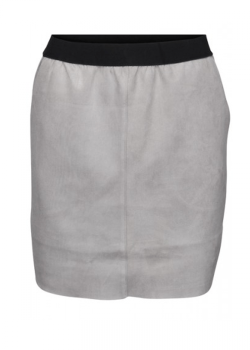 Tanna suede skirt GREY