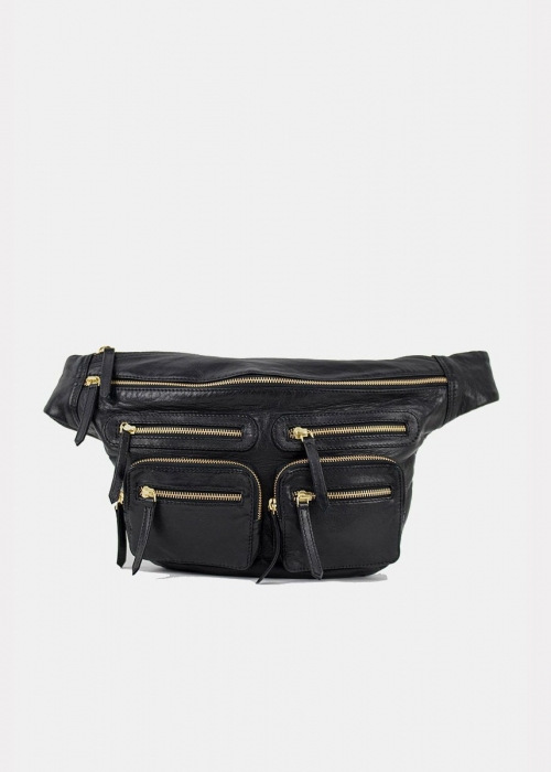 Re:designed Ly bumbag BLACK/GOLD