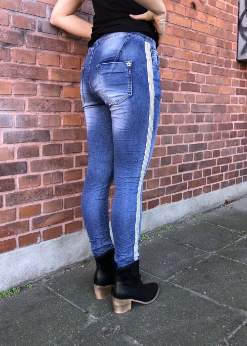 Jogging jeans DENIM STRIPE