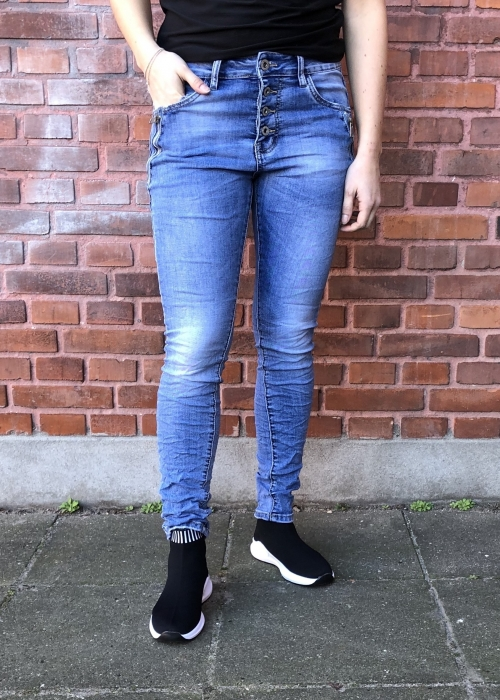 Jewelly jeans Zipper jeans