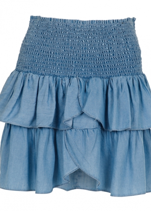 Neo Noir Carin skirt CHAMBRAY