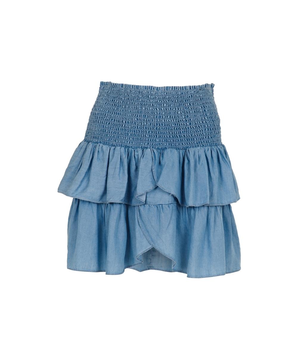 Carin skirt CHAMBRAY
