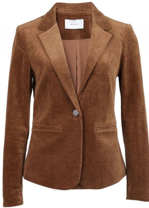 Jones cord blazer COGNAC