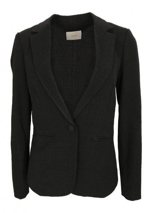 Neo Noir Jones check blazer NAVY