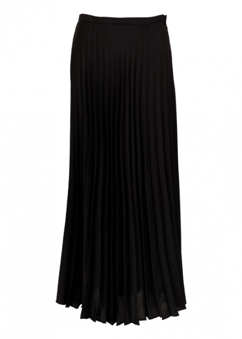 Boni plissé skirt BLACK