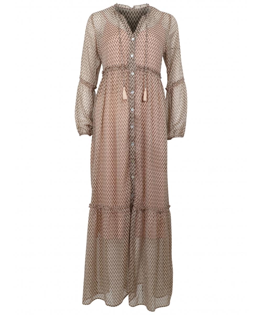 11f4e93aa625 Vivi dress SAND - MetteP Shop