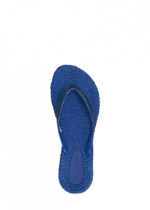 Ilse Jacobsen Flip flops med glitter DIRECT BLUE