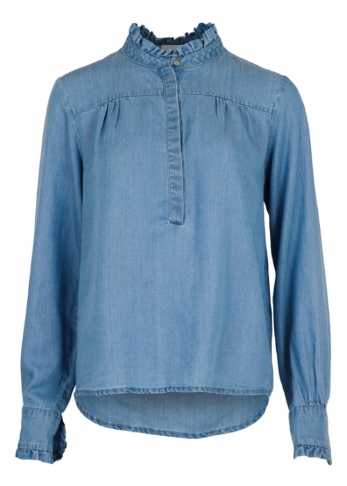 Viki chambray shirt DUSTY BLUE