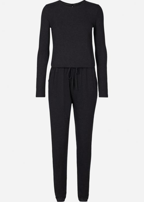 Amanda wool touch jumpsuit DARK GREY MELANGE