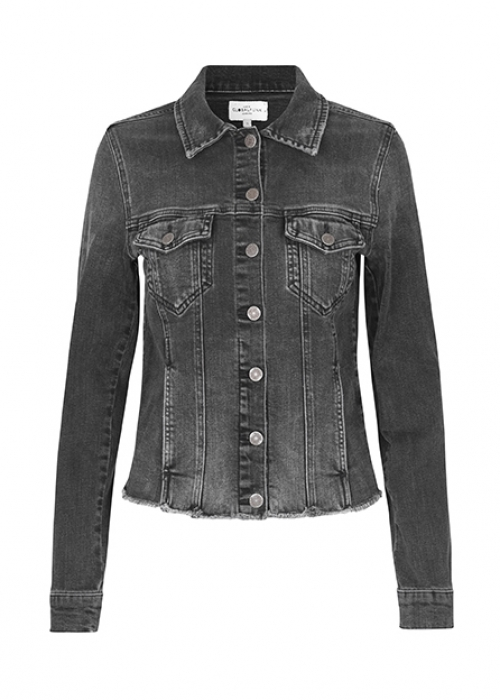Global Funk Keenon denim jacket REBEL BLACK